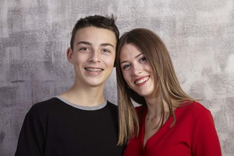 Germans Marina i Enric